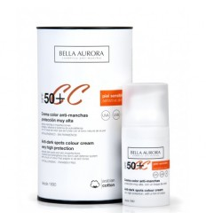 BELLA AURORA CREMA COLOR 50 PIEL SENSIBLE